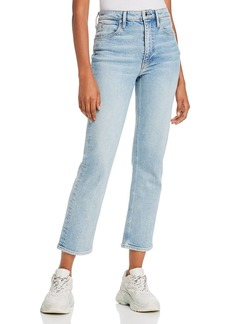 T by Alexander Wang alexanderwang.t Cult Flex Jeans in Light Indigo Bleach