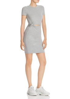 T by Alexander Wang alexanderwang.t Cutout T-Shirt Dress