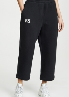 T by Alexander Wang alexanderwang.t Dense Fleece Sweatpants