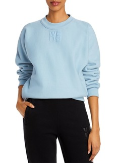 T by Alexander Wang alexanderwang.t Foundation Cotton Terry Sweatshirt