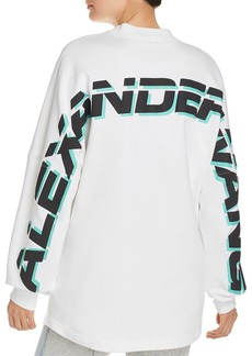T by Alexander Wang alexanderwang.t French Terry Logo Sweatshirt