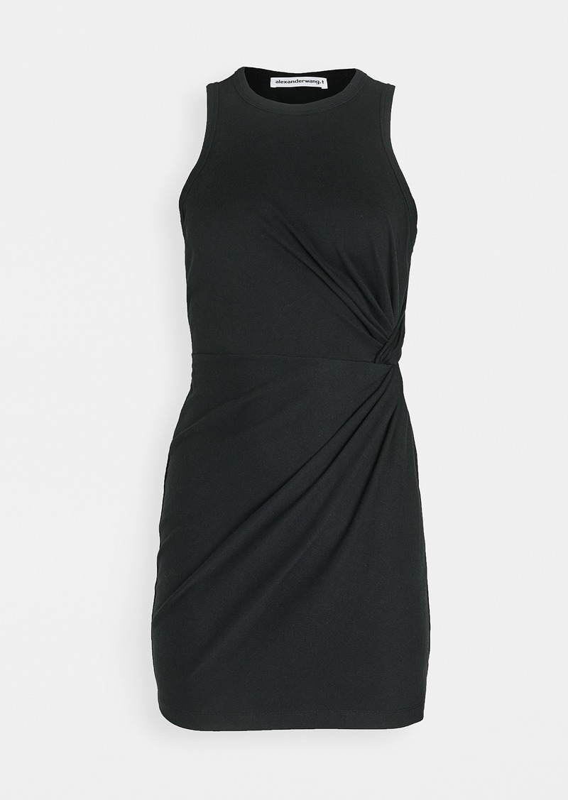 T by Alexander Wang alexanderwang.t Heavy Soft Jersey Fitted Tank Dress