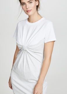 T by Alexander Wang alexanderwang.t High Twist Knot Dress