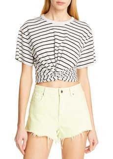 T by Alexander Wang alexanderwang.t High Twist Stripe Tee