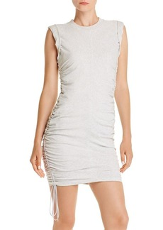 T by Alexander Wang alexanderwang.t Ruched T-Shirt Dress