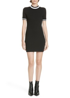 T by Alexander Wang alexanderwang.t Stripe Jersey Dress