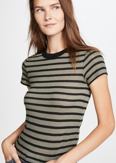 T by Alexander Wang alexanderwang.t Striped Slub Boy Tee