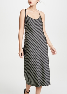 T by Alexander Wang alexanderwang.t Striped Wash & Go Halter Dress