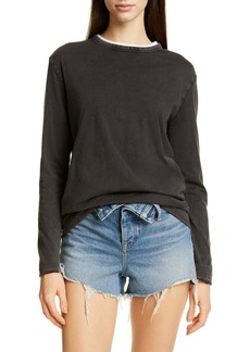 T by Alexander Wang alexanderwang.t Superfine Reversible Tee