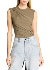 T by Alexander Wang alexanderwang.t Twisted Crepe Jersey Top