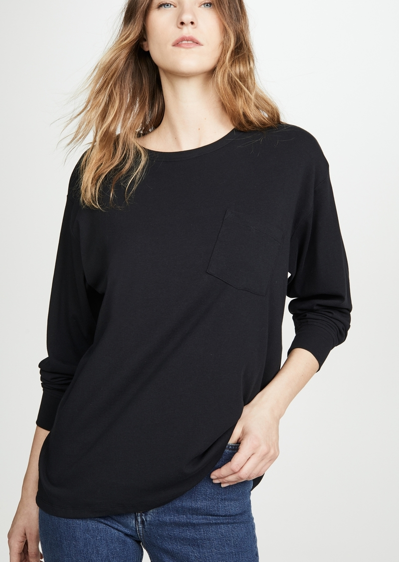 T by Alexander Wang alexanderwang.t Vintage Cotton Long Sleeve Tee