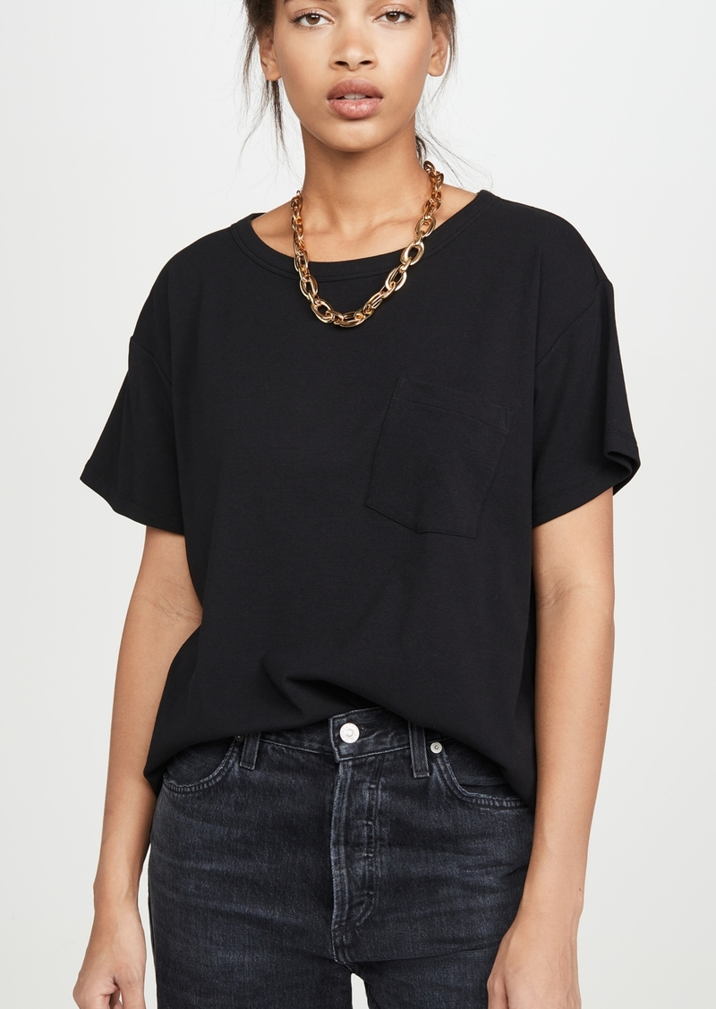 T by Alexander Wang alexanderwang.t Vintage Cotton Short Sleeve Tee