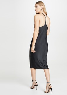 T by Alexander Wang alexanderwang.t Wash & Go Racerback Dress