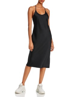 T by Alexander Wang alexanderwang.t Wash & Go Racerback Tank Dress
