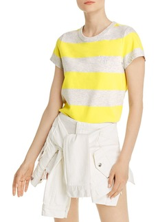 T by Alexander Wang alexanderwang.t Wash & Go Striped Tee