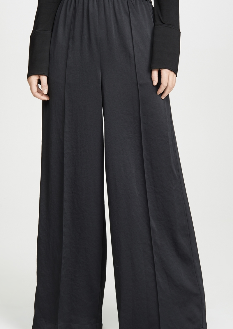 T by Alexander Wang alexanderwang.t Wash & Go Wide Leg Pants