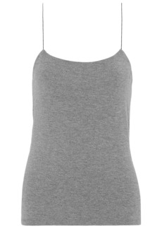 T by Alexander Wang Alexanderwang.t Woman Cutout Stretch-modal Jersey Camisole Gray