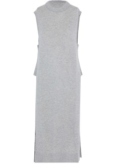 T by Alexander Wang Alexanderwang.t Woman Wool And Cashmere-blend Tunic Gray