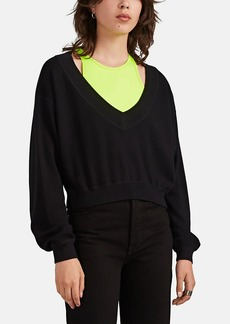 T by Alexander Wang alexanderwang.t Women's Bra-Layered Sweater