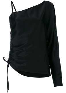 T by Alexander Wang asymmetric blouse