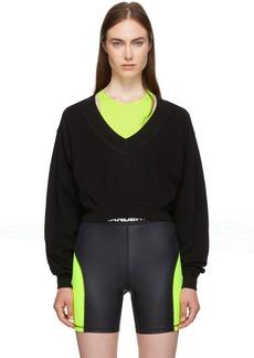 T by Alexander Wang Black & Yellow Bi-Layer Sweater