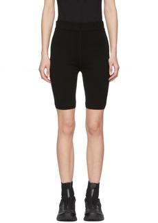 T by Alexander Wang Black Bodycon Basics Biker Shorts