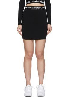 T by Alexander Wang Black Bodycon Miniskirt