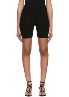 T by Alexander Wang Black Foundation Bodycon Biking Shorts