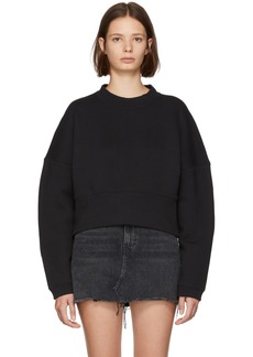 T by Alexander Wang Black French Terry Sweatshirt
