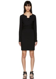 T by Alexander Wang Black High Twist Dress