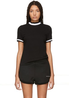 T by Alexander Wang Black High Twist T-Shirt