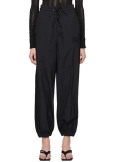 T by Alexander Wang Black Hybrid Lounge Pants