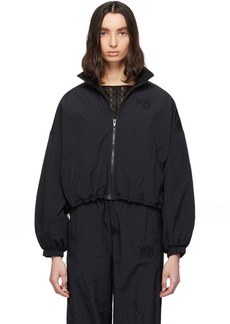 T by Alexander Wang Black Nylon Zip Jacket