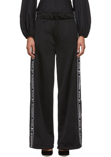 T by Alexander Wang Black Pull-On Lounge Pants