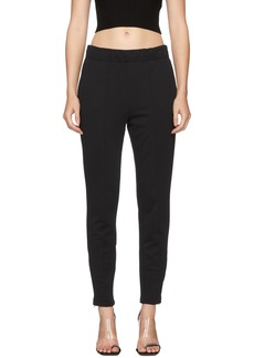 T by Alexander Wang Black Pull-On Track Pants