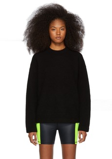 T by Alexander Wang Black Teepee Sweater