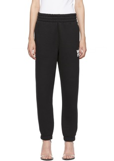 T by Alexander Wang Black Wash & Go Dense Lounge Pants