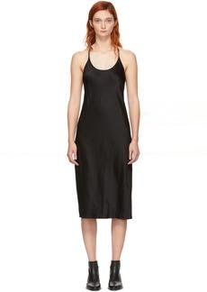 T by Alexander Wang Black Wash & Go Dress