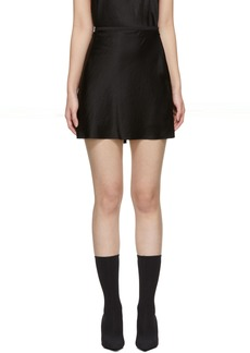 T by Alexander Wang Black Wash & Go Miniskirt