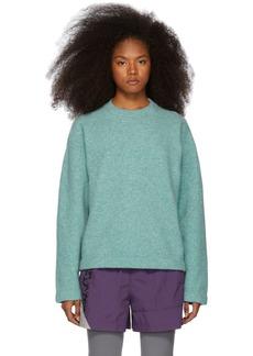T by Alexander Wang Blue Teepee Sweater