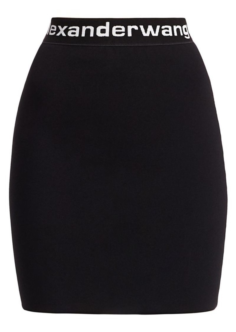T by Alexander Wang Bodycon Mini Skirt
