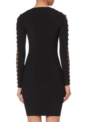 T by Alexander Wang Bra Strap Ribbed Dress