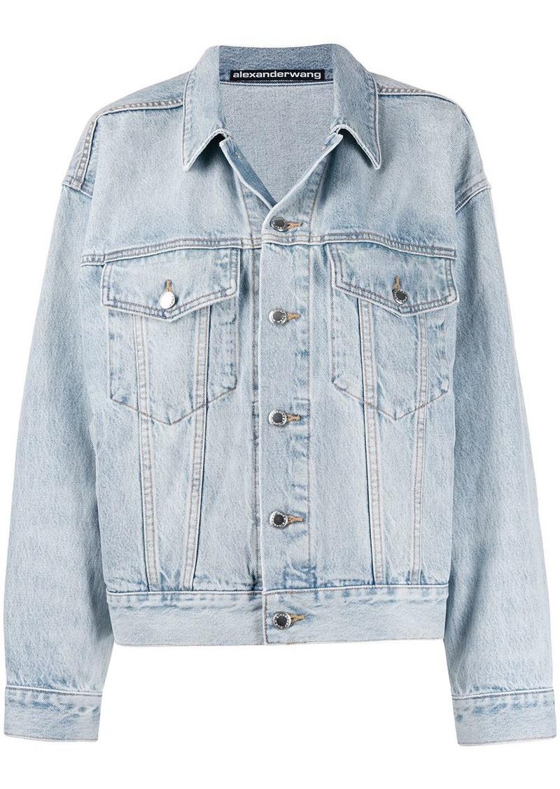 Alexander Wang button-up denim jacket