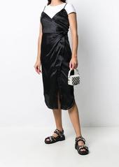 T by Alexander Wang Cami Twist midi dress