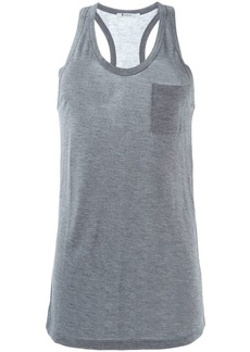 T by Alexander Wang chest pocket tank top