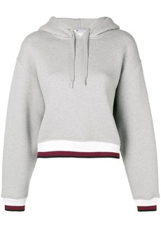 T by Alexander Wang contrast band hoodie