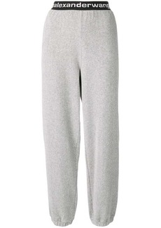 T by Alexander Wang corduroy track trousers