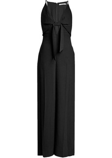 T by Alexander Wang Crepe Jumpsuit with Knot