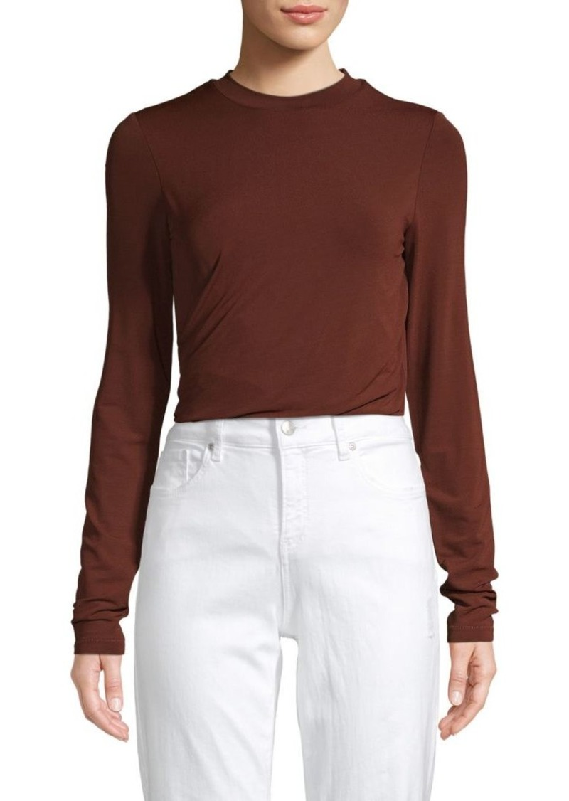 T by Alexander Wang Crewneck Long-Sleeve Top