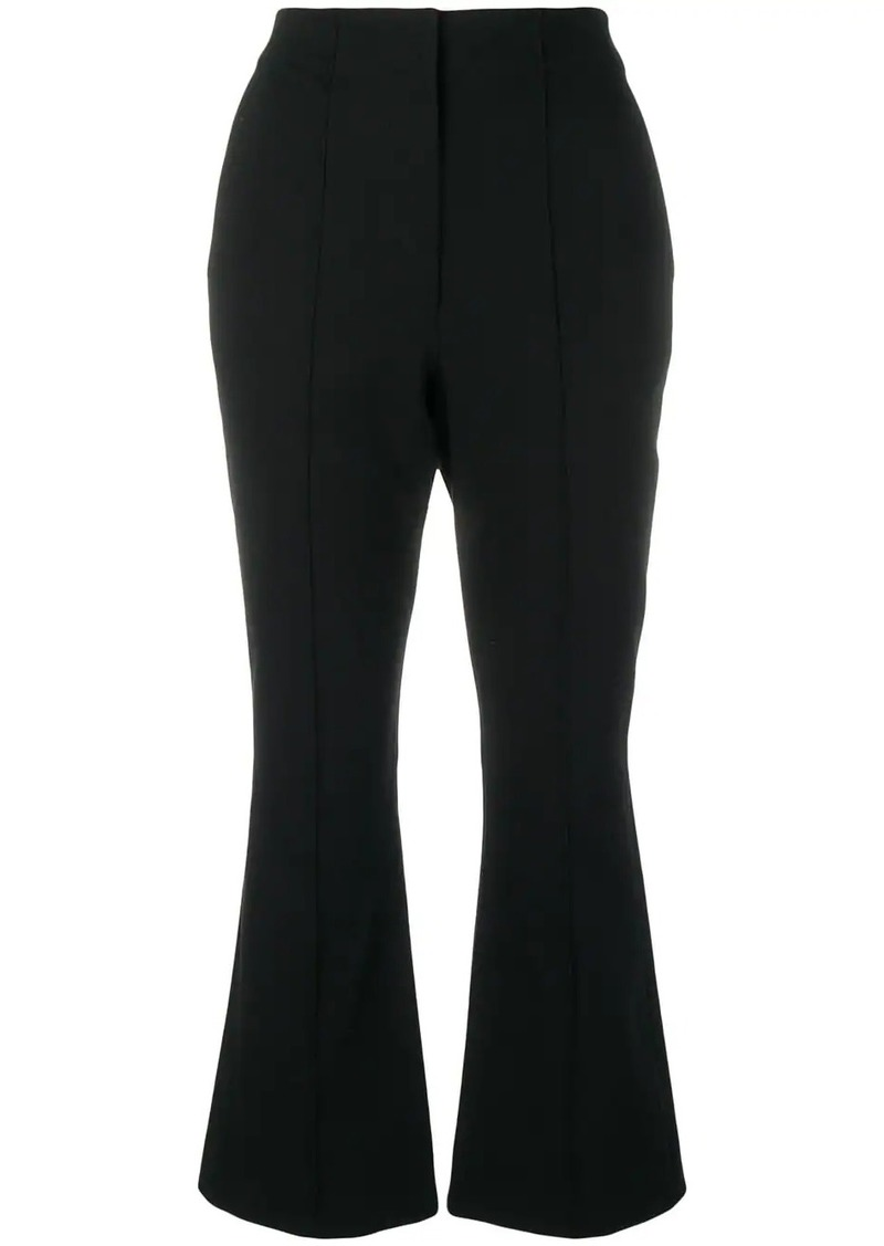 T by Alexander Wang cropped flared trousers